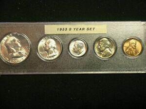 1953-S Very Choice BU  San Francisco Mint Year Set         53S1