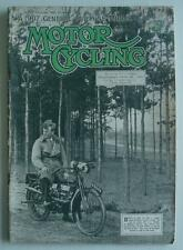 MOTOR CYCLING MAGAZINE 15 MAY 1935  -  350cc New Imperial with Sidecar Tested