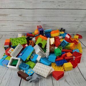 Genuine LEGO DUPLO 160 pieces 1.7KG  Mixed Bundle Job Lot Bulk Bricks Blocks