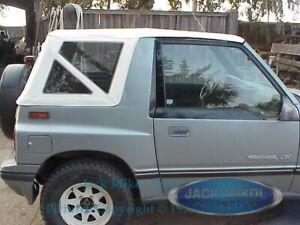 Rampage 1995-1998 Suzuki Sidekick Geo Tracker Soft Top White
