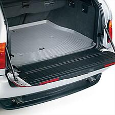 BMW OEM 2000-2006 X5 3.0i 4.4i NO 3rd Row GRAY All Weather Trunk Mat 82110305059