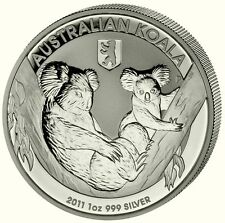 Koala 2011 Privy Zeichen WMF Berlin 1A$ Australien 1 Unze Silber ST / BU