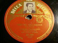 """10"""" - 78 RMP - Carmen Cavallaro – Meet Mister Callaghan - DECCA - 60.789"""