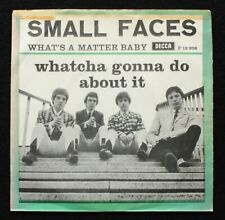 """Small Faces Whatcha Gonna Do About It 7"""" Danish Pic Sleeve Rare Holy Grail Mod"""