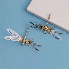 Jewelry Bridal Baroque Hair Clip Gold Headdress Wedding Dragonfly Hairpins