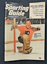 Vintage February 1971 Sports Guide Magazine Complete Sports Coverage Press Media