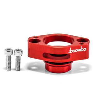 Boomba Racing Blow Off Valve Adapter Red for 13-15 Ford F-150 3.5 2.7 Ecoboost