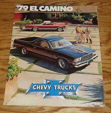 Original 1979 Chevrolet El Camino Foldout Sales Brochure 79 Chevy