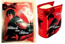 SALE New Attack on Titan Book Shape Porch Red Eren Seven Eleven Japan Limited