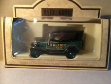 "Lledo days gone by vintage 1934 model ""A"" ford car Raleigh"