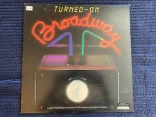 New listing Turned-On Broadway (LP 1982) Luther Henderson, Broadway Symphony, AFL1-4327