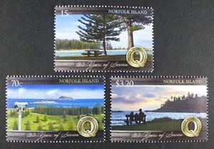 Norfolk Insel 2014 Landschaften Bäume Trees Quota Club Meer Landscapes MNH