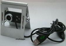 Executive Clip Webcam USB 2.0 3 LED,ovp.NEU!