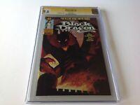 BLACK DRAGON 6 CGC SIGNATURE SERIES 9.6 WHITE PAGES JOHN BOLTON MARVEL COMICS