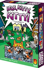 Here Kitty Kitty Family Board Game Fireside Games FSD 2002 Cat Collecting