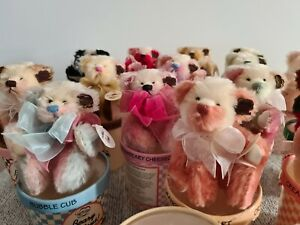 Rare Fuzzy Confection Beary Licious Series by Annette Funicello 19 Teddies