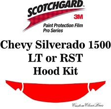 3M Scotchgard Paint Protection Pro Series 2019 2020 Chevy Silverado 1500 LT RST
