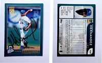 Roberto Hernandez Signed 2001 Topps #502 Card Kansas City Royals Auto Autograph