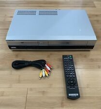 Sony SLV-D360P DVD VCR Combo With Remote VHS Player Recorder 4-Head Hi-Fi Stereo