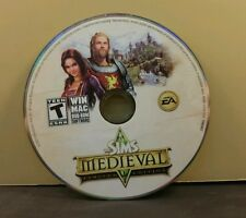THE SIMS MEDIEVAL LIMITED EDITION (PC) GREAT CONDITION (DISC ONLY) NO CODE #049