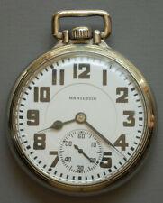 in Hamilton Model 5 Case Hamilton 16 Size 992 Pocket Watch