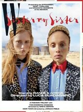 W MAGAZINE VOLUME 2 2018 FASHION TRIOLOGY RIANNE & ADWOA NEW SHIPS FREE