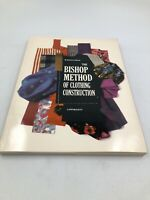 THE BISHOP METHOD OF CLOTHING CONSTUCTION: Vintage J.B. LIPPINCOTT Sewing Book