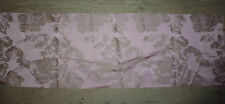 tissu french textile ameublement damas rose gros fleur style 18e 128x39 A8
