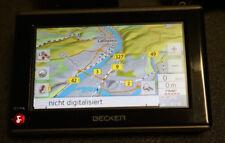 Navigationsgerät Becker GPS NAVI  SatNav  Map  2017