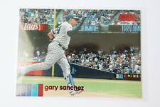 2020 Topps Stadium Club Gary Sanchez #215 red foil parallel New York Yankees