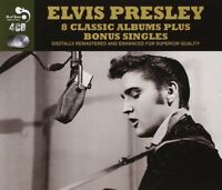ELVIS PRESLEY - 8 CLASSIC ALBUMS PLUS BONUS 4 CD NEW
