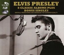ELVIS PRESLEY - 8 CLASSIC ALBUMS PLUS BONUS 4 CD NEUF