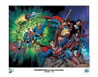 ACTION #1000 SUPERMAN print signed by DAN JURGENS & KEVIN NOWLAN limited to 200!