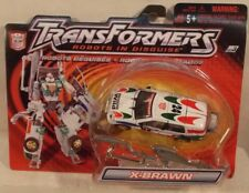 Transformers Robots In Disguise - Deluxe Autobot X-Brawn White Hasbro (MOC)