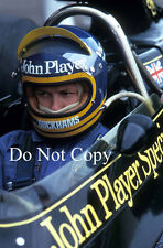 Ronnie Peterson JPS Lotus F1 Portrait 1974 Photograph 5