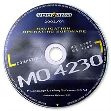 VDO-Dayton Betriebssoftware /  Operating Software MO 4230  für MS4100/ MS4200