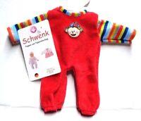 Puppen Kleidung Nicki Overall Strampler Babypuppe für 20 - 22 cm Puppen,Nr 10820