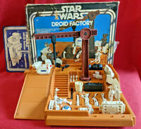 Star Wars Vintage Droid Factory w/ R2D2 and BOX 1979 playset vtg Jawa