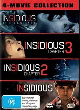 Insidious 1-4 Box Set DVD Region 4 NEW