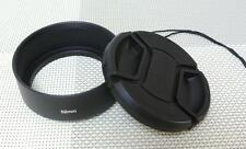 52 mm Metal Lens Hood + 58 mm Cap for Standard Camera Lens 52SC58