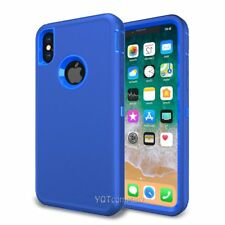 For Apple iPhone X Case Cover Protective Hybrid Rugged Shockproof Rubber Hard