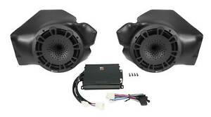 MB QUART Kick Panel Speakers+Amplfier for Select Polaris RZR Ride Command