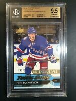2016-17 Upper Deck Pavel Buchnevich Young Guns Exclusives Rookie /100 BGS 9.5