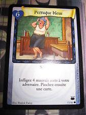 HARRY POTTER TCG CHEMIN DE TRAVERSE PERRUQUE BLEUE 53/80 COM FRANCAIS NEUF