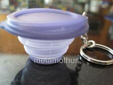 Tupperware Flatout Container Keychain Purple Lot 20 Party Favor NEW