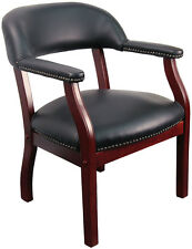 Lot of 10 Black Vinyl Reception Guest Side Chairs