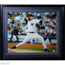 CHIEN MING WANG SIGNED FRAMED 16x20 MLB DEBUT PHOTO YANKEES NATIONALS JAYS REDS