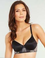 Berlei Silhouette Chantilly Under Wire Black Bra B4971 Size 32 & 34 B - DD Cups