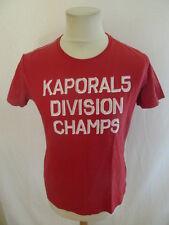 T-shirt Kaporal 5 Rouge Taille M à - 51%