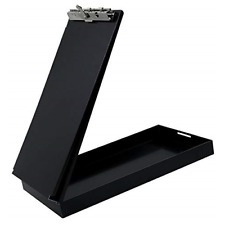 Saunders Black Recycled Aluminum Citation Holder Eco-Friendly Office Supply,
